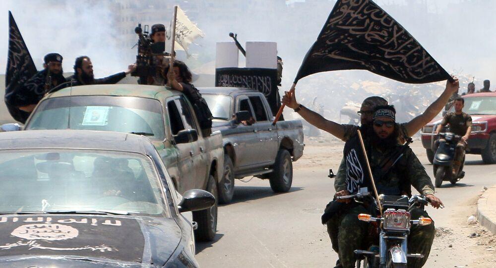 Membres du Front al-Nosra