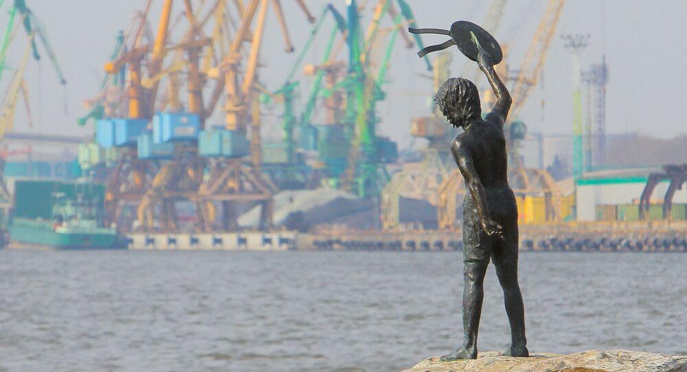 Le port lituanien de Klaipeda