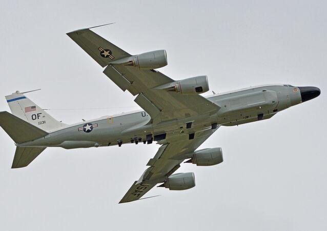 Un Boeing RC-135W, image d'illustration