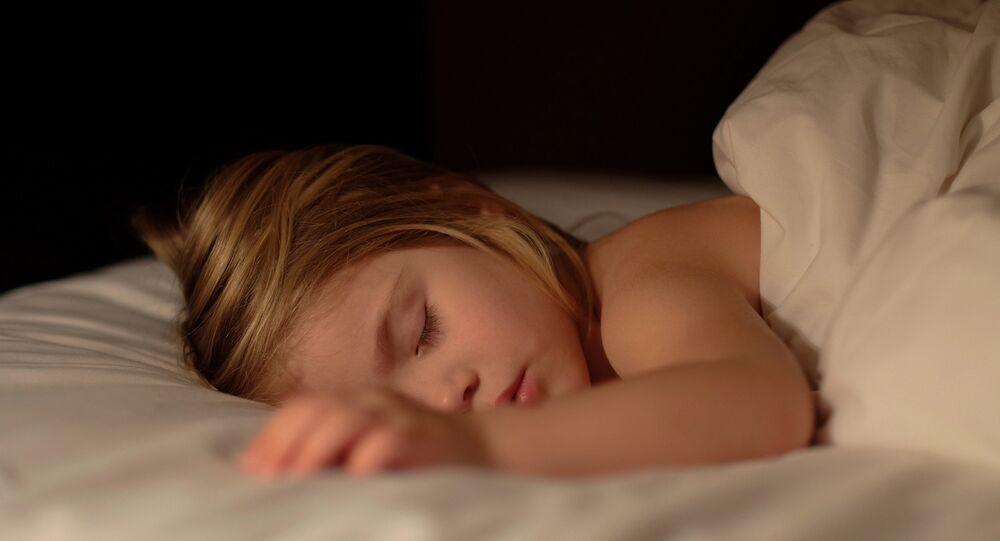 Un enfant endormi