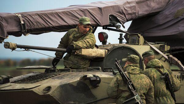 Les soldats des troupes aéroportées russes - Sputnik France