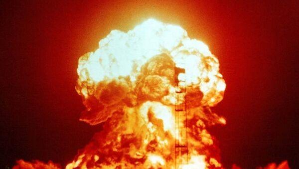 explosion nucléaire, image d`illustration - Sputnik France