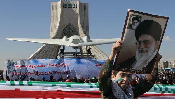 Réplique d'un RQ-170 Sentinel abattu en Iran - Sputnik France