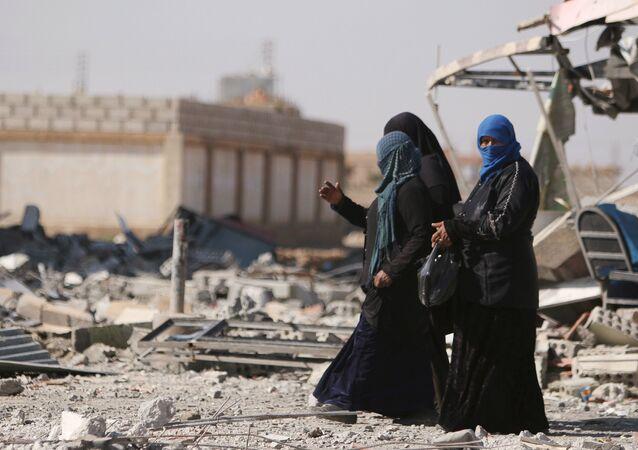 Femmes syriennes dans la province de Hassaké