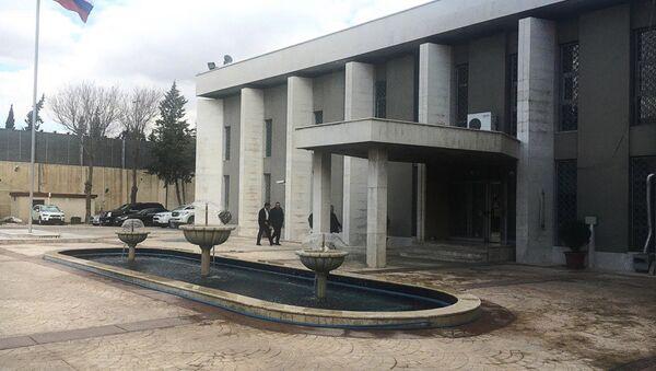 L'ambassade de Russie à Damas - Sputnik France