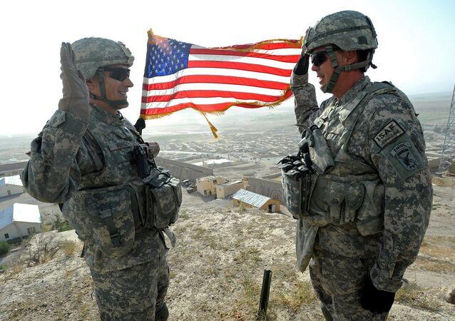 Une base US en Afghanistan