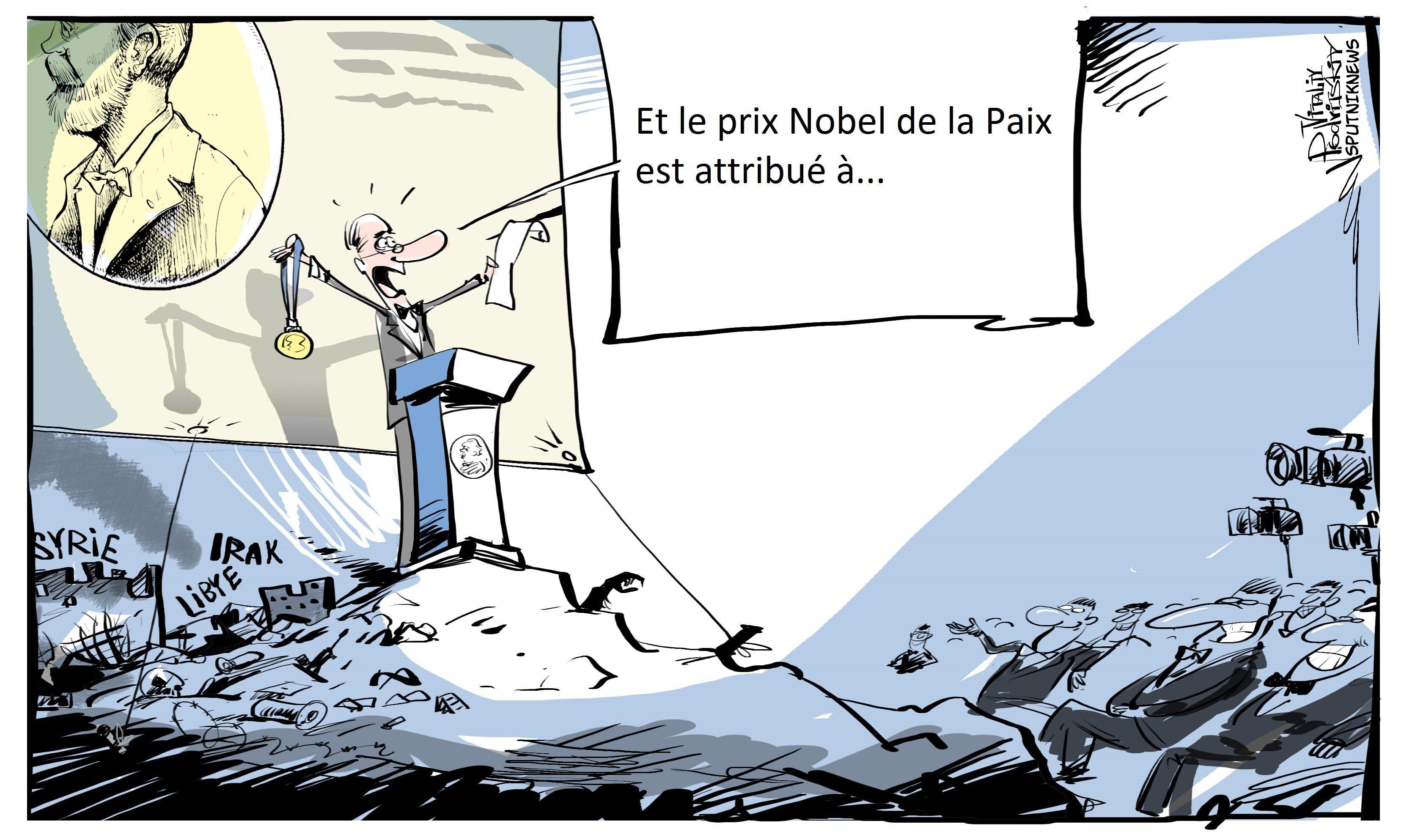Fabius de la Paix : l'ancien chef de la diplomatie vise le Prix Nobel