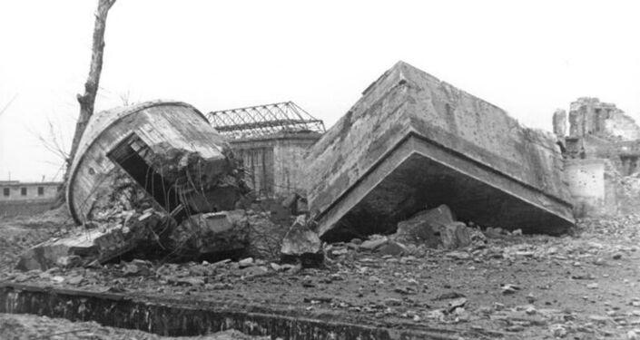 Ruines du Führerbunker (1947)
