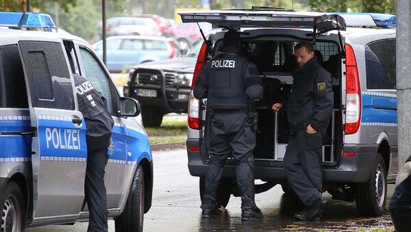 Policiers à Chemnitz - Sputnik France