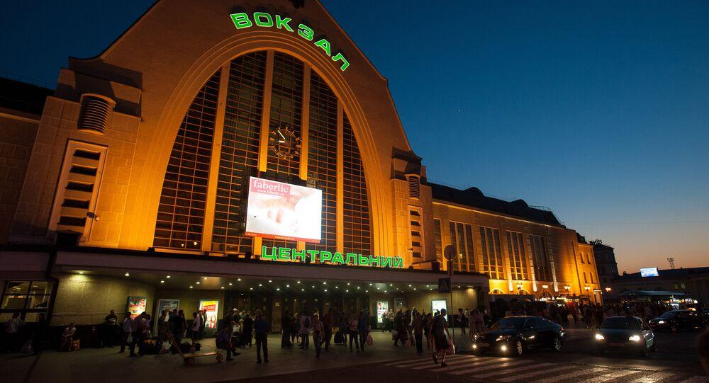 Gare centrale de Kiev