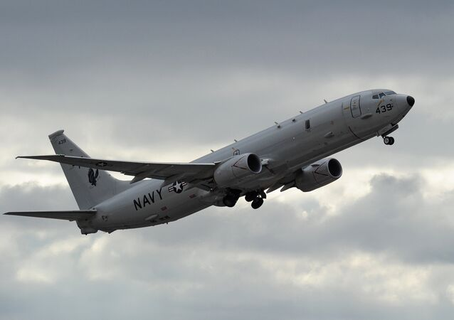 Un avion P-8 Poseidon de l'US Navy