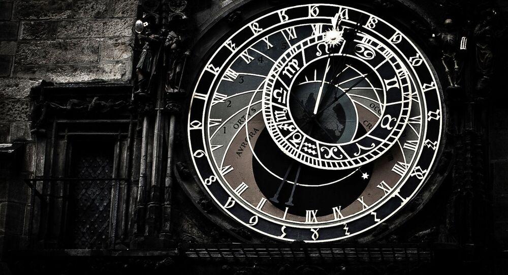 L'horloge. Image d'illustration