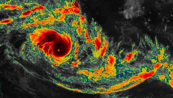 Le cyclone Pam près de Vanuatu - Sputnik France