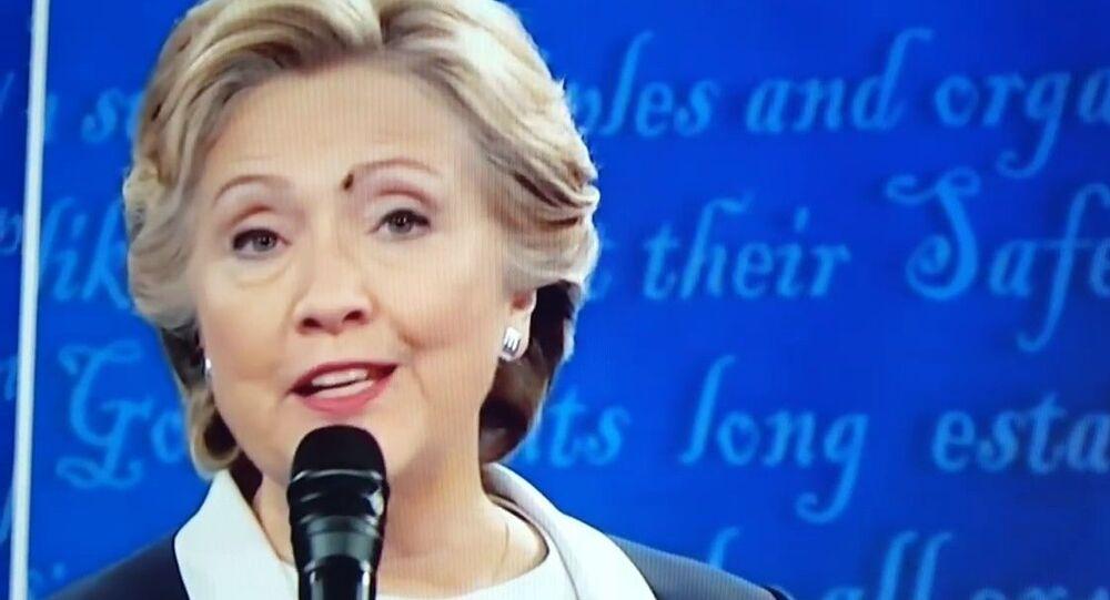 «La mouche d'Hillary Clinton»
