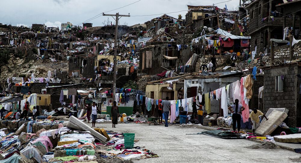 Destructions en Haïti