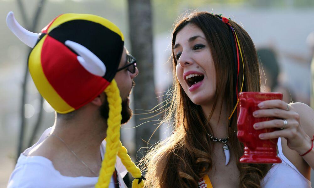 Une tournée, s'il vous plaît! L'Argentine célèbre l'Oktoberfest