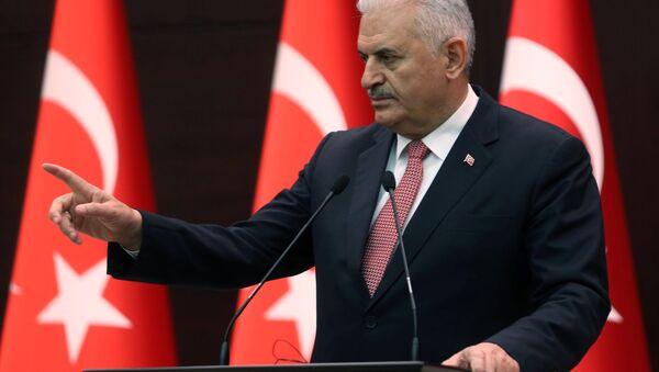 le premier ministre turc, Binali Yildirim - Sputnik France