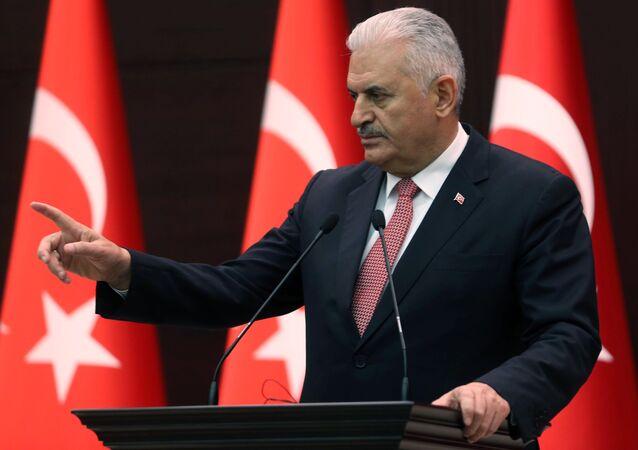 le premier ministre turc, Binali Yildirim