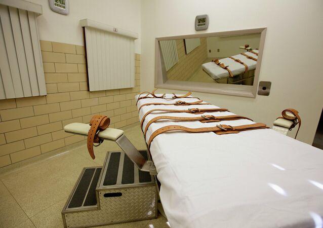 Chambre d'injection létale aux Etats-Unis