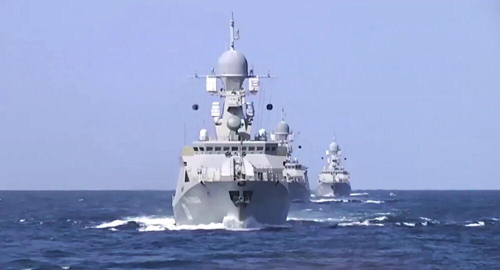 La réalisation du projet du canal caspien permettrait à la marine militaire russe d'entrer dans les eaux de l'océan Indien