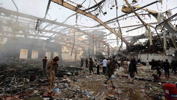 Destructions au Yémen - Sputnik France