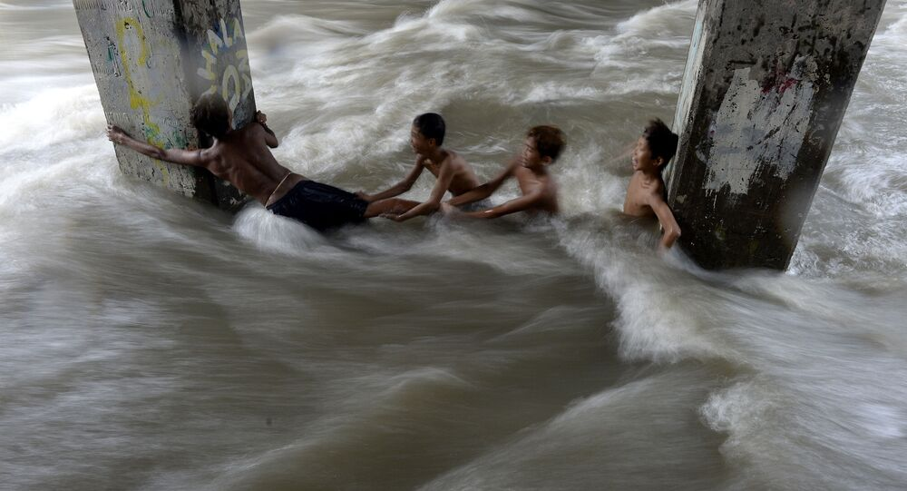 Une inondation