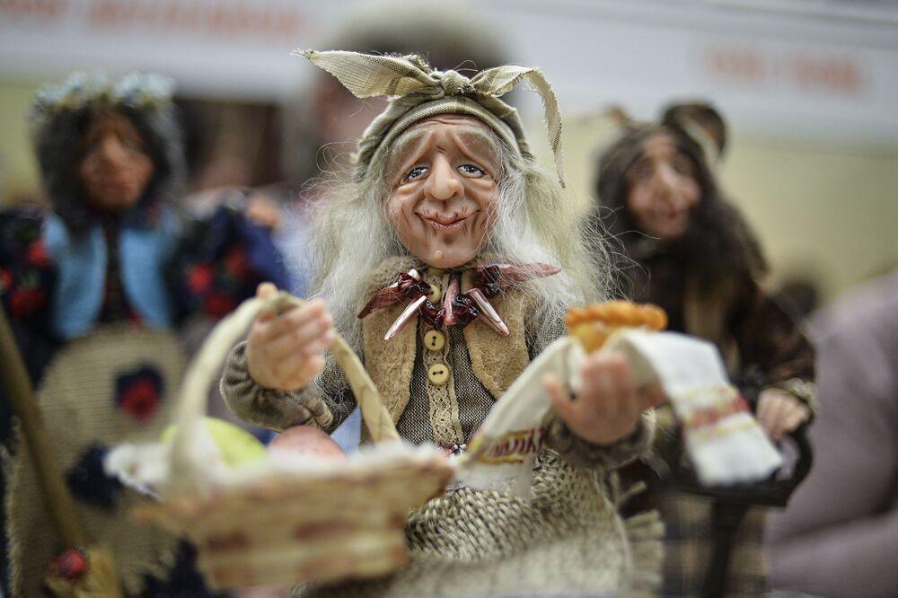 Les poupées du monde entier réunies à Moscou