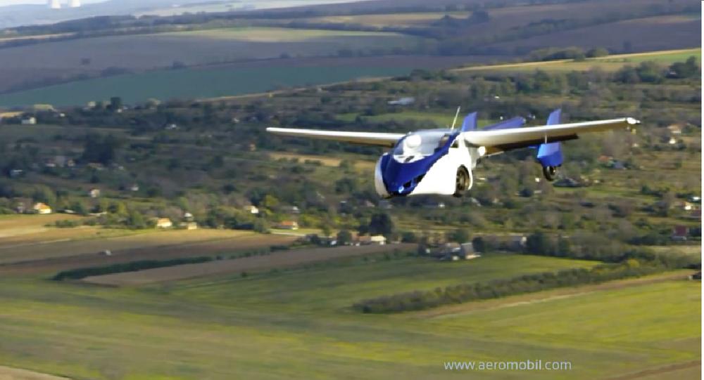 La première voiture volante commercialisée d'ici deux ans?
