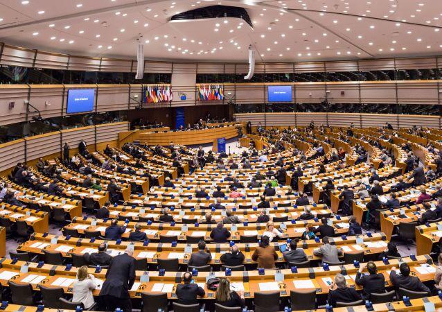 Parlement européen. Archive photo