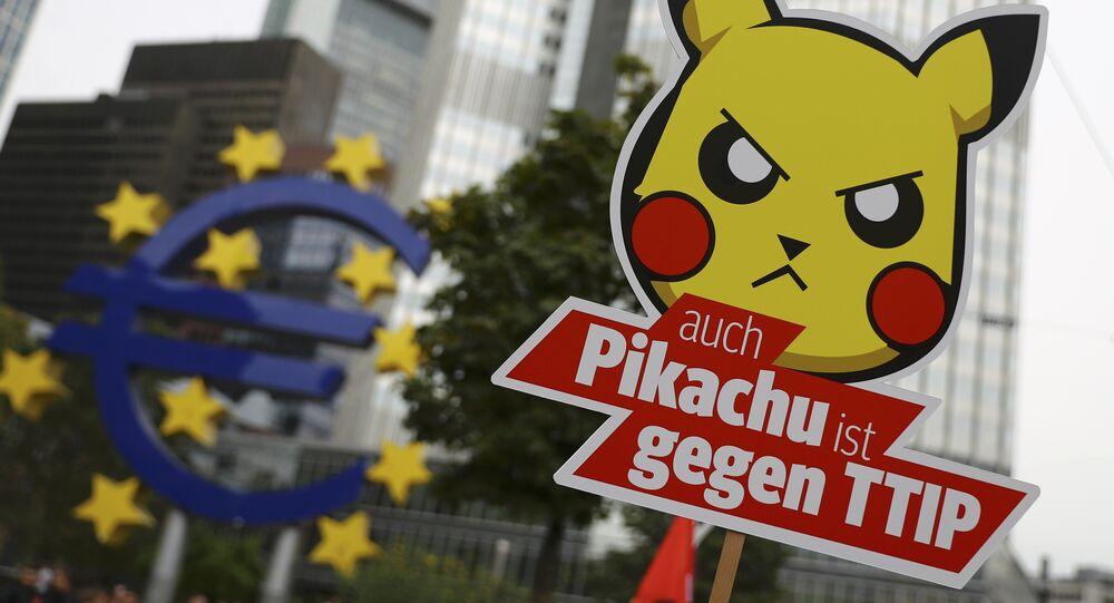 Marche contre le TTIP