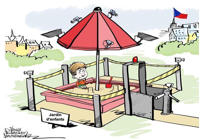 Les empreintes digitales, l'enjeu sécuritaire des écoles maternelles tchèques!