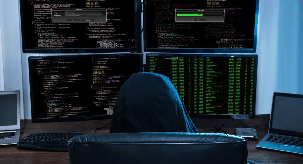 Hacker. Image d'illustration