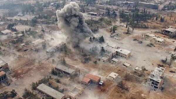 Юго-запад города Алеппо в Сирии - Sputnik France