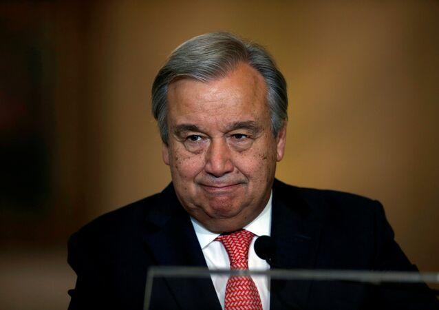 Antonio Guterres prend la tête de l'Onu
