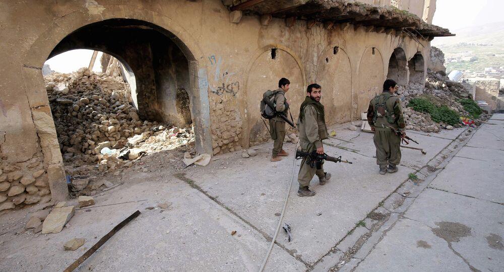 Les forces kurdes à Sinjar, Archive photo