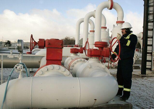 Un centre de contrôle du gaz en Turquie