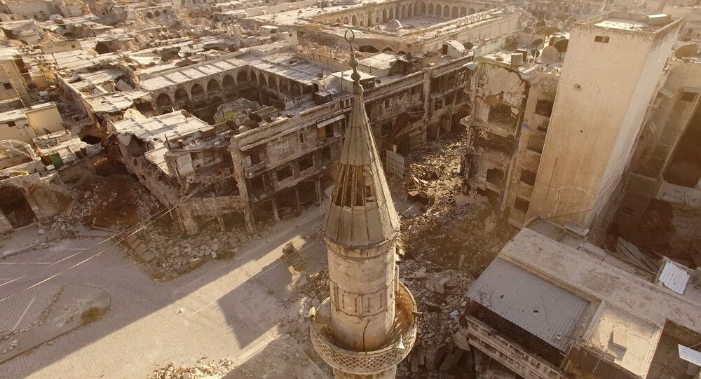 Alep, Syrie. Archive photo