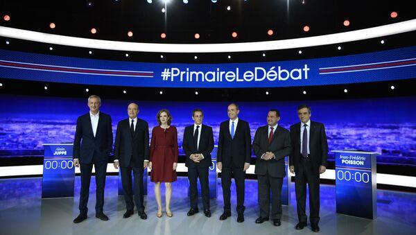 Premier débat de la primaire de la droite - Sputnik France