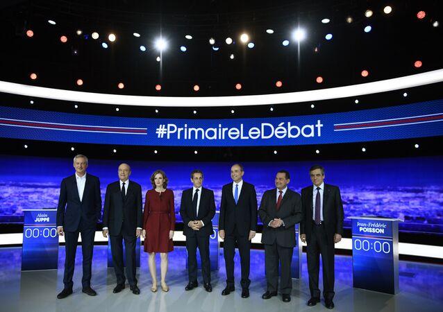 Premier débat de la primaire de la droite