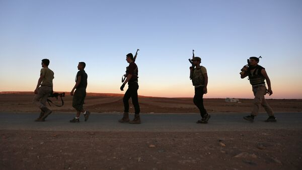 Kämpfer in Aleppo - Sputnik France