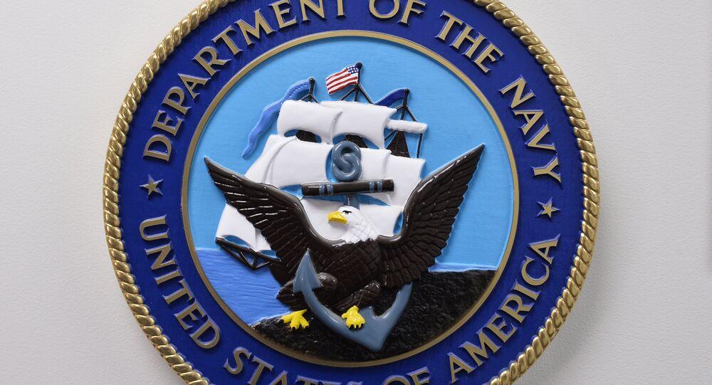 Emblème du département de la Marine des Etats-Unis