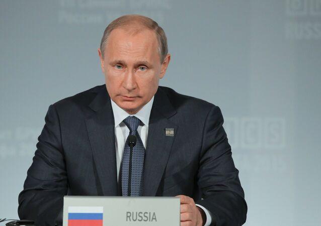 Vladimir Poutine au sommet des BRICS