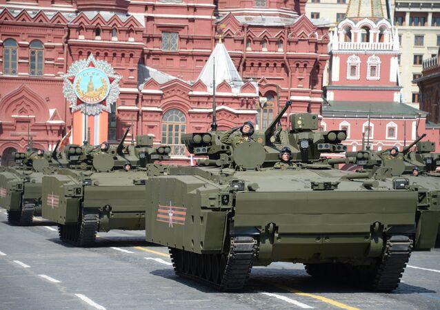 Véhicules blindés de transport des troupes  Kourganets-25