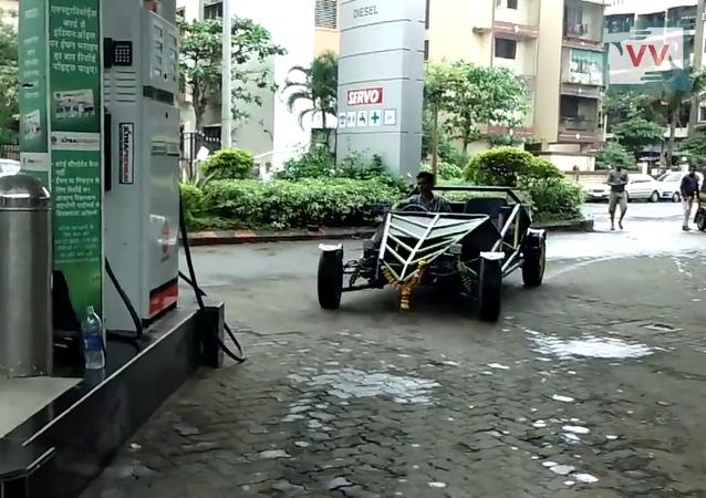 Une voiture conçue et construite de zéro en Inde