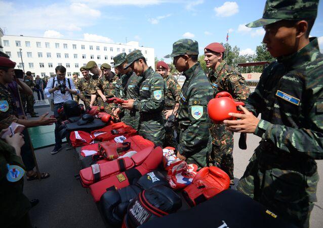 La Chine et la Russie lancent des manœuvres anti-terroristes conjointes Collaboration-2016