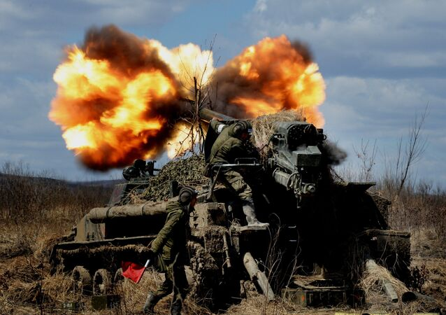 Un canon automoteur (image d'illustration)