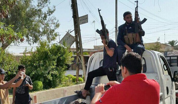 Djihadistes en Irak
