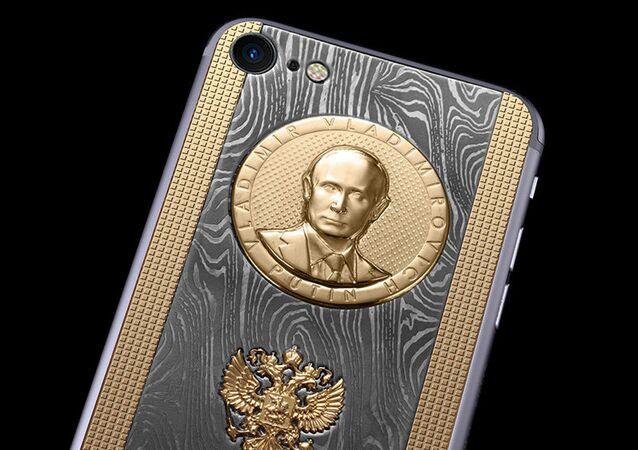 iPhone Supremo Putin Damascus