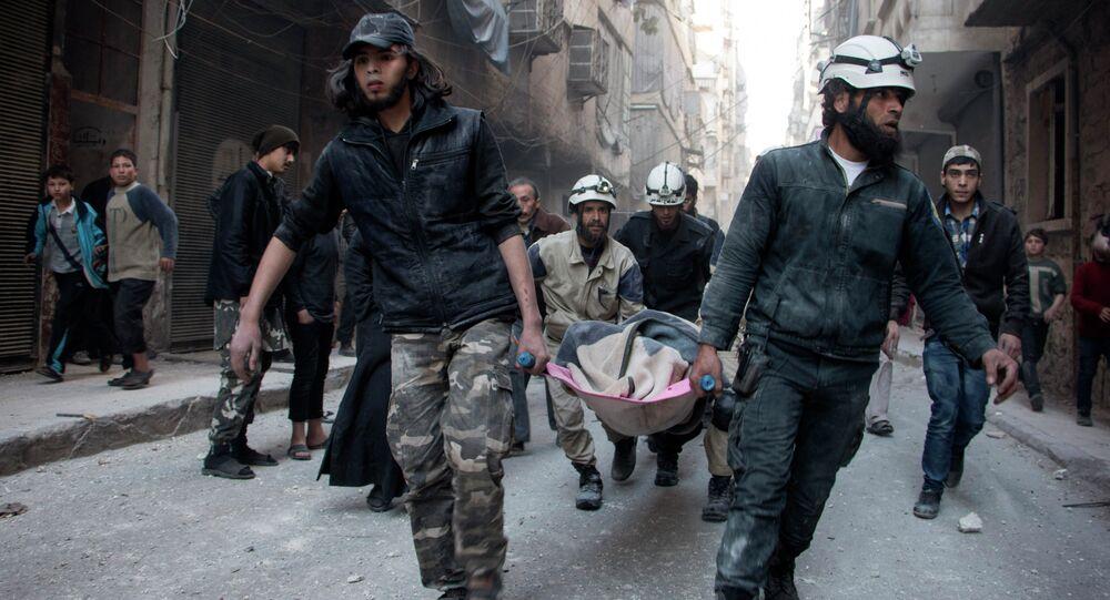 Casques blancs en Syrie