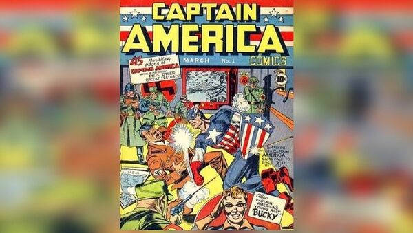 Captain America #1 - Sputnik France